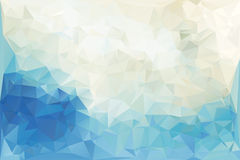 Polygonal Background Royalty Free Stock Photo