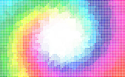 Polygonal Background for webdesign - Blue, purple, green, yellow colors Stock Photography