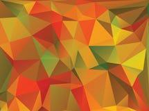 Polygonal bakgrund för abstrakt triangel Arkivfoto