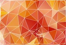 Polygonal bakgrund för abstrakt triangel Royaltyfri Foto