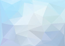 Polygonal blue background. Vector EPS 10. Royalty Free Stock Photography