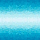 Polygonal blue background Stock Photos
