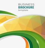 Polygonal business background Stock Photo