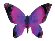 Polygonal Butterfly Royalty Free Stock Photos