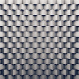 Polygonal concrete wall as background Royalty Free Stock Photography