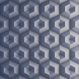 Polygonal concrete wall as background. 3D rendering Royalty Free Stock Photo