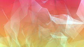 Polygonal 3d abstract chaos. Geometric random shapes, abstract polygon background Stock Photos