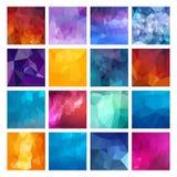 Polygonal  design Royalty Free Stock Photography
