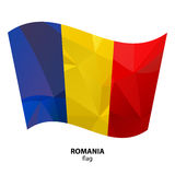 Polygonal flags-13 Stock Photography