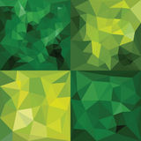 Polygonal Geometric backgrounds. Royalty Free Stock Photo