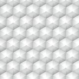 Polygonal geometric vector triangle grey background Stock Images