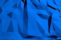 Polygonal geometrisk modellbakgrund arkivbilder