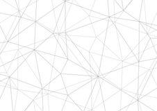 Polygonal grå bakgrund, geometrisk design för abstrakt vektor vektor illustrationer