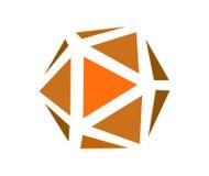 Polygonal Jewelry Icon Stock Image