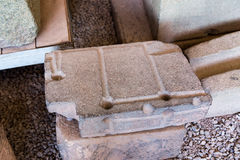 Polygonal masonry Inca brick. Coricancha,Peru, South America. Stock Photo