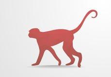 Polygonal Monkey Stock Photos