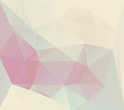 Polygonal mosaic abstract background Royalty Free Stock Photos