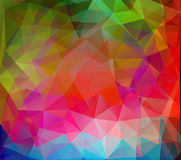 Polygonal mosaic abstract background Royalty Free Stock Image