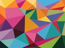Polygonal mosaikbakgrund vektor illustrationer