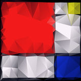 Polygonal pattern Royalty Free Stock Images