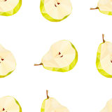 Polygonal pear Stock Images