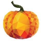 Polygonal Pumpkin Royalty Free Stock Photo