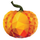 Polygonal Pumpkin Royalty Free Stock Photo