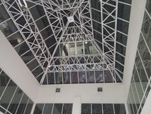 The polygonal roof Royalty Free Stock Photography