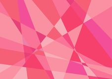 Polygonal rosa bakgrundsvektor Arkivfoto