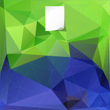 Polygonal template background for design Stock Images
