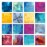 Polygonal vector design Royalty Free Stock Images
