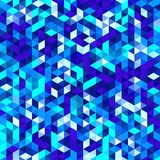 Polygonal vector mosaic, triangle texture background, geometrical pattern Royalty Free Stock Images