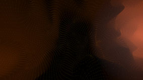 Polygonale Form von Punkten und von Linien Lizenzfreies Stockfoto