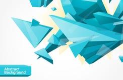 Polygonaler geometrcial Hintergrund Stockbild