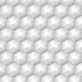Polygonaler geometrischer Vektordreieck-Grauhintergrund Stockbilder