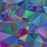 Polygonaler geometrischer violetter Hintergrund Lizenzfreie Stockfotos