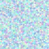 Polygonaler Hintergrund des nahtlosen abstrakten Dreiecks Lizenzfreie Stockfotografie