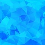 Polygonaler Mosaikhintergrund Stockfotografie