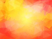 Polygonaler Mosaikhintergrund Lizenzfreies Stockfoto