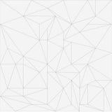 Polygonales Hintergrund-Muster Stockbilder