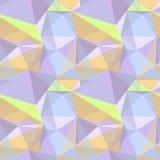 Polygonales Muster Stockfoto