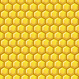 Polygonbienenwabenbeschaffenheit Stockbilder
