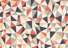 Polygondreieck-Hintergrund Zusammenfassung Lizenzfreie Stockfotografie