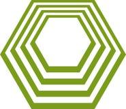 Polygone Image libre de droits