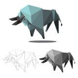 Polygone de Buffalo Photos stock