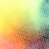 Polygones abstraits lumineux de modèle Photographie stock