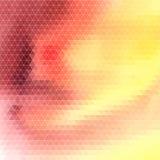Polygones abstraits lumineux de modèle Images stock