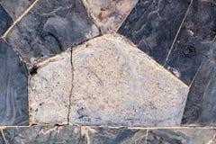 Polygonfelsenhintergrund Stockfotos
