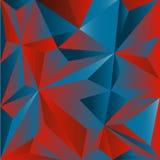 Polygonic pattern Stock Photo