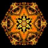 Polygonmodell Royaltyfri Fotografi